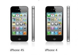 iphone4 versus iphone4s