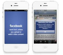 Facebook app data usage iPhone 4S